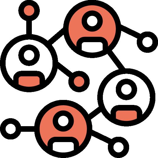 Icon Kundenbeziehungen